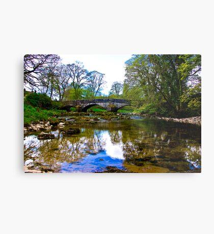 Stone Bridge - River Skirfare. Metal Print