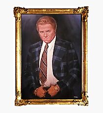 Biff Tannen Oil Painting Picture Photographic Print