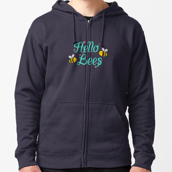 Hello Bees - Critical Role Zipped Hoodie