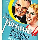 Classic Movie Poster - Reaching for the Moon by SerpentFilms
