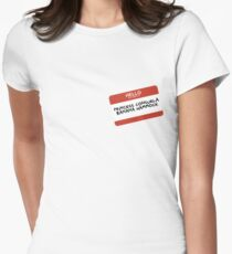 Princess Consuela Banana Hammock Women's Fitted T-Shirt