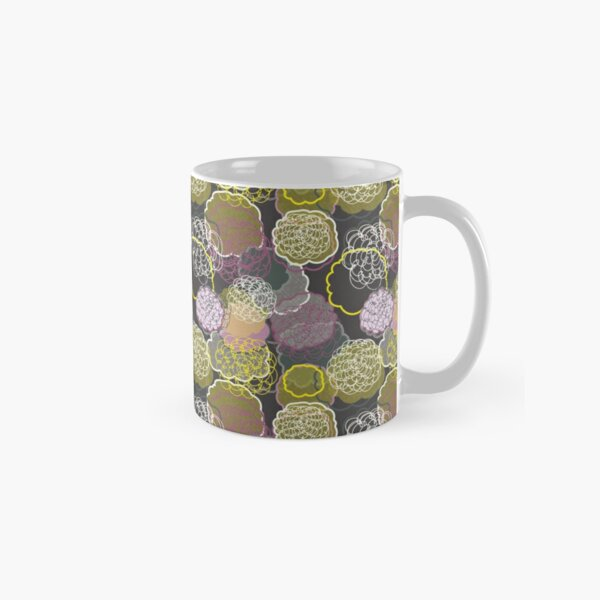 Urban Tribal Flowers Classic Mug