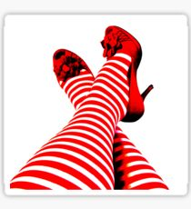 The Red Shoes Sticker