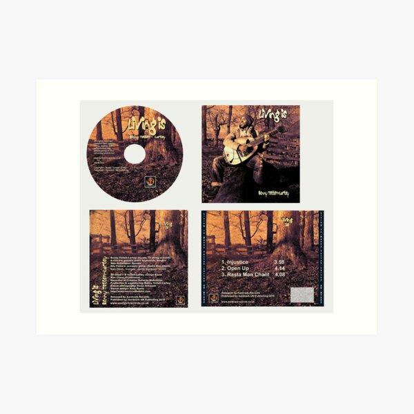 CD Sleeve Benny Tetteh- Lartey Art Print
