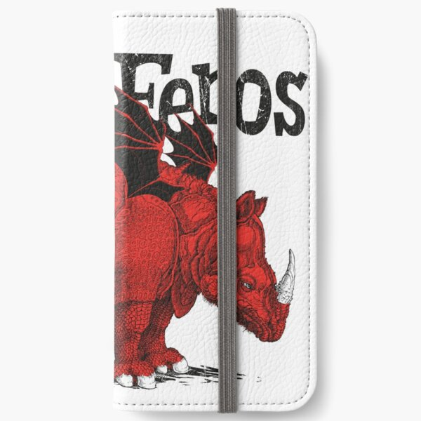 Rhino Feros Étui portefeuille iPhone