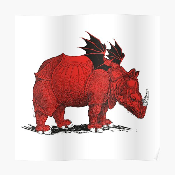 Rhino Feros Poster