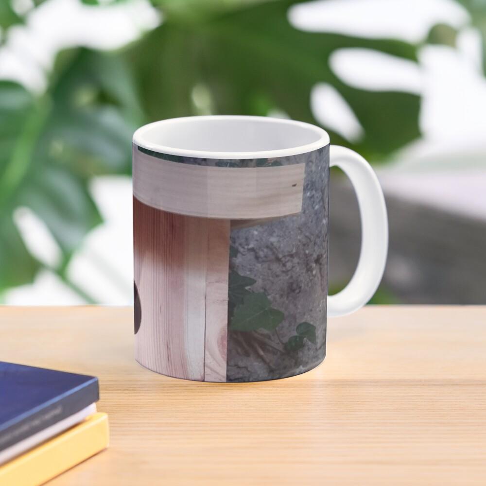 Der Nistkasten - Luxus für den Garten-Vogel Tasse