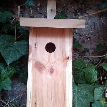 Der Nistkasten - Luxus für den Garten-Vogel von Gourmetkater
