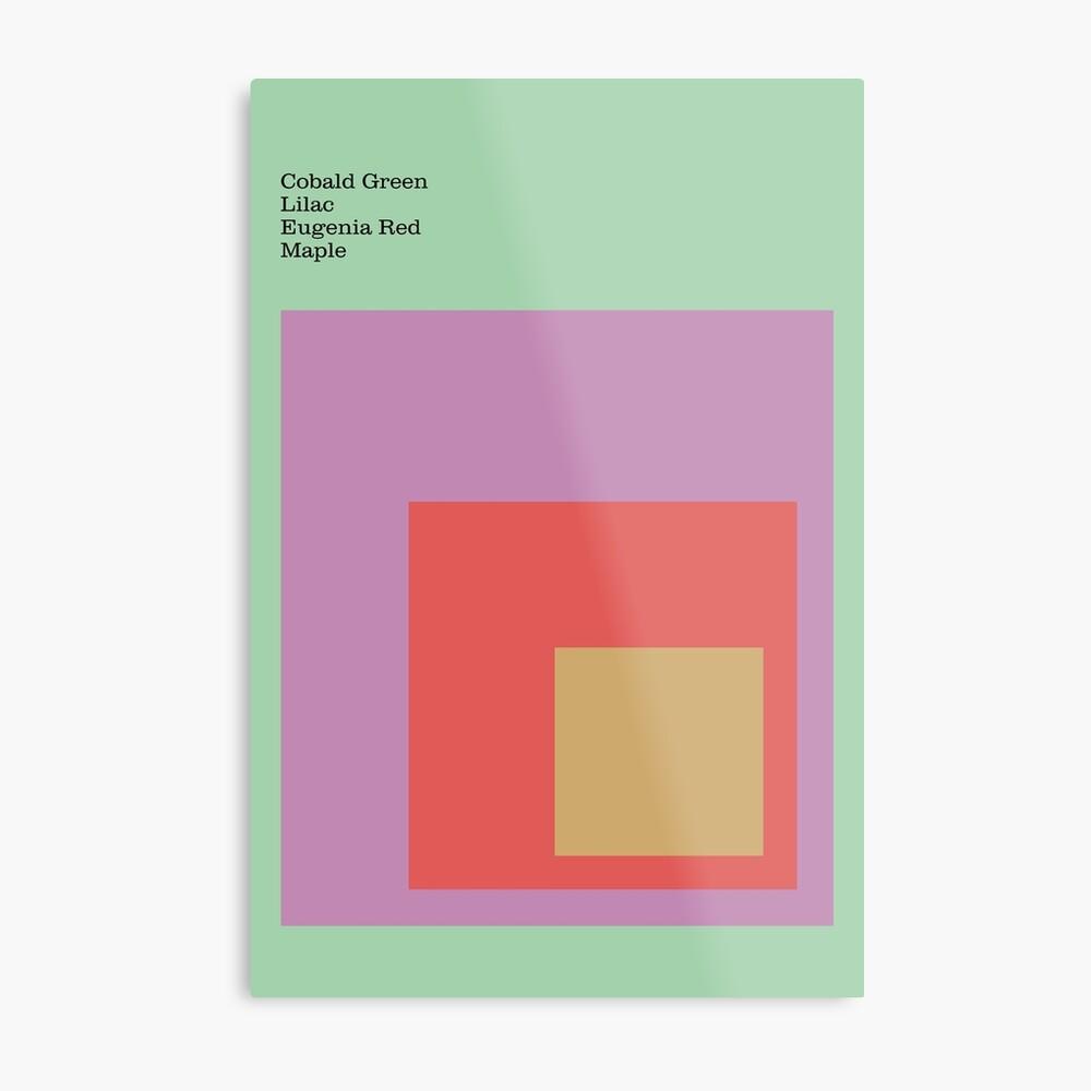 Color Ensemble No. 4 Metal Print