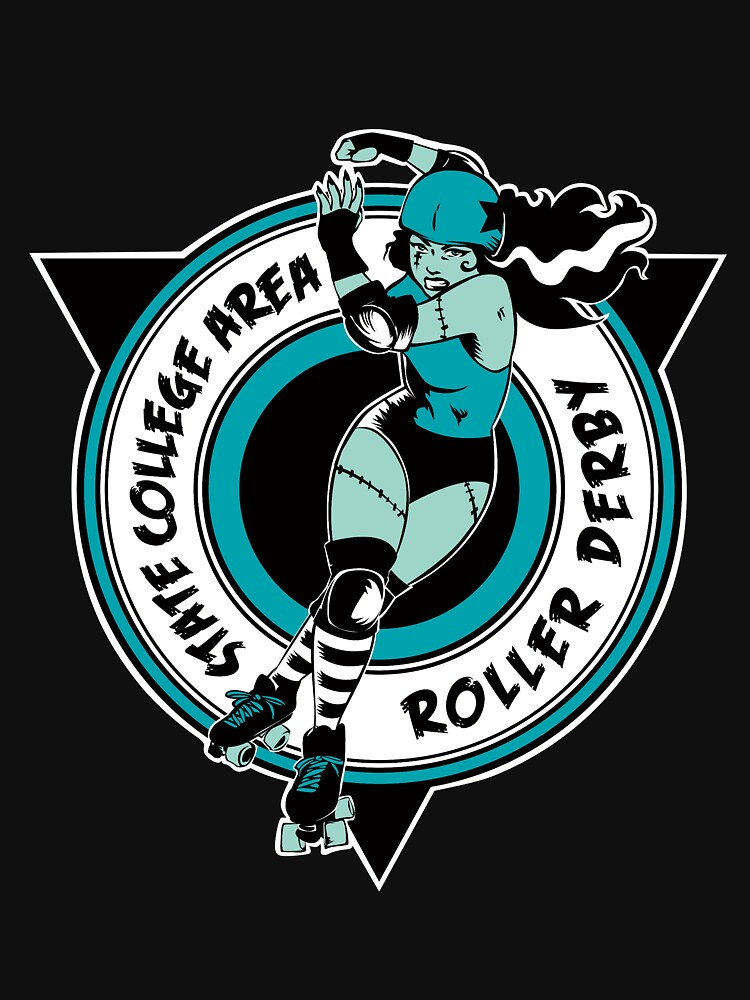 State College Area Roller Derby Logo by SCARDerby