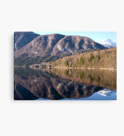bohinj reflections Canvas Print