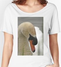 Mute Swan - Cygnus olor Women's Relaxed Fit T-Shirt