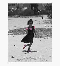 Pink in Asia Photographic Print