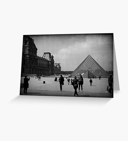 LE TOURISTE Greeting Card