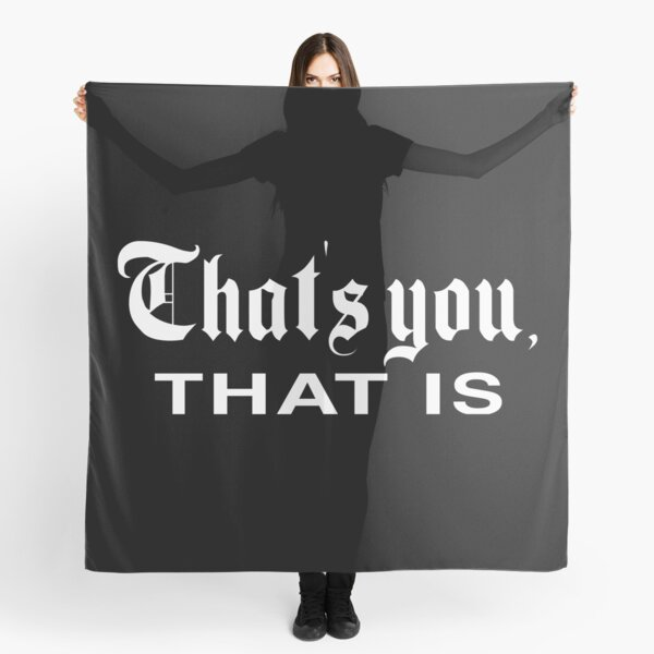 That's You, That is - History Today Scarf