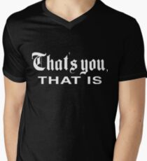 That's You, That is - History Today V-Neck T-Shirt