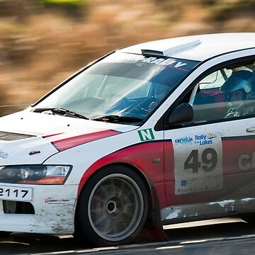 Rally of the Lakes 2010 - S7 - Paul Manton by DataStream