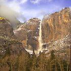 Upper Yosemite Falls by Wulfrunnut