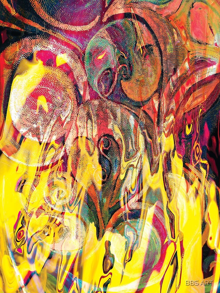 revealing fire abstract art by brunobenedetti