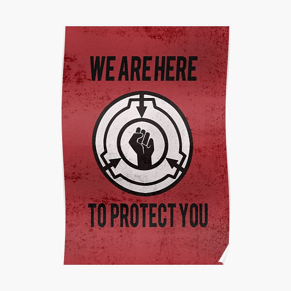 We are here to protect you MTF Poster Poster