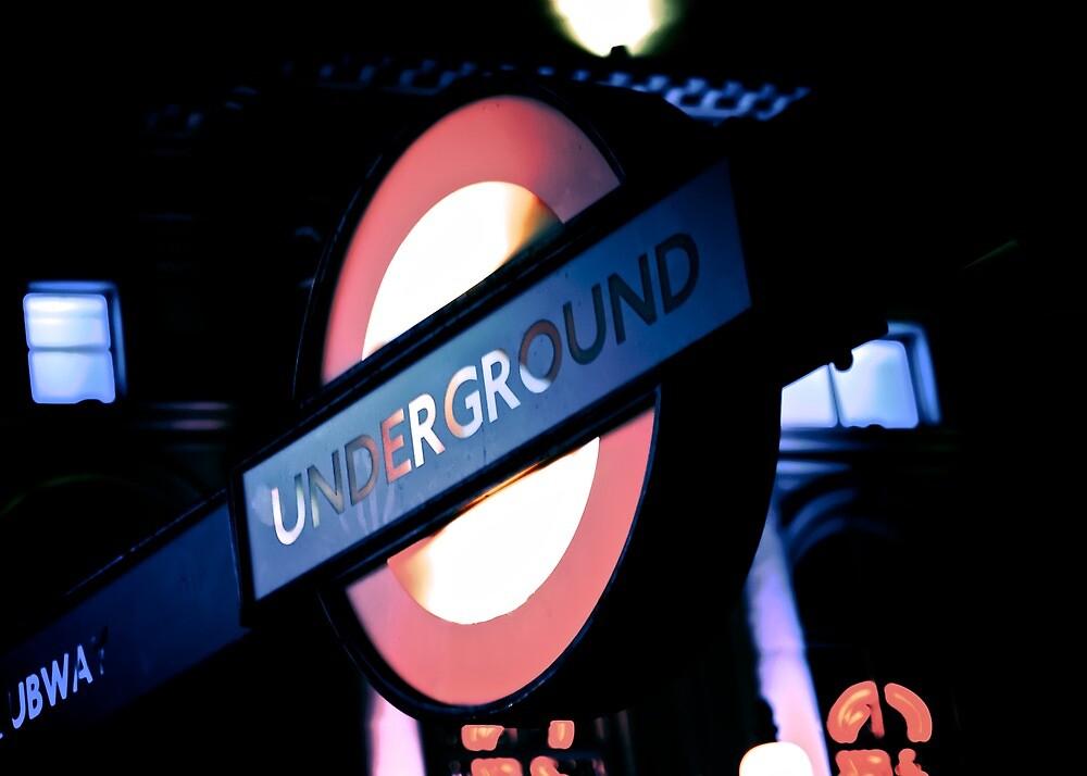 London Underground sign by doug88888