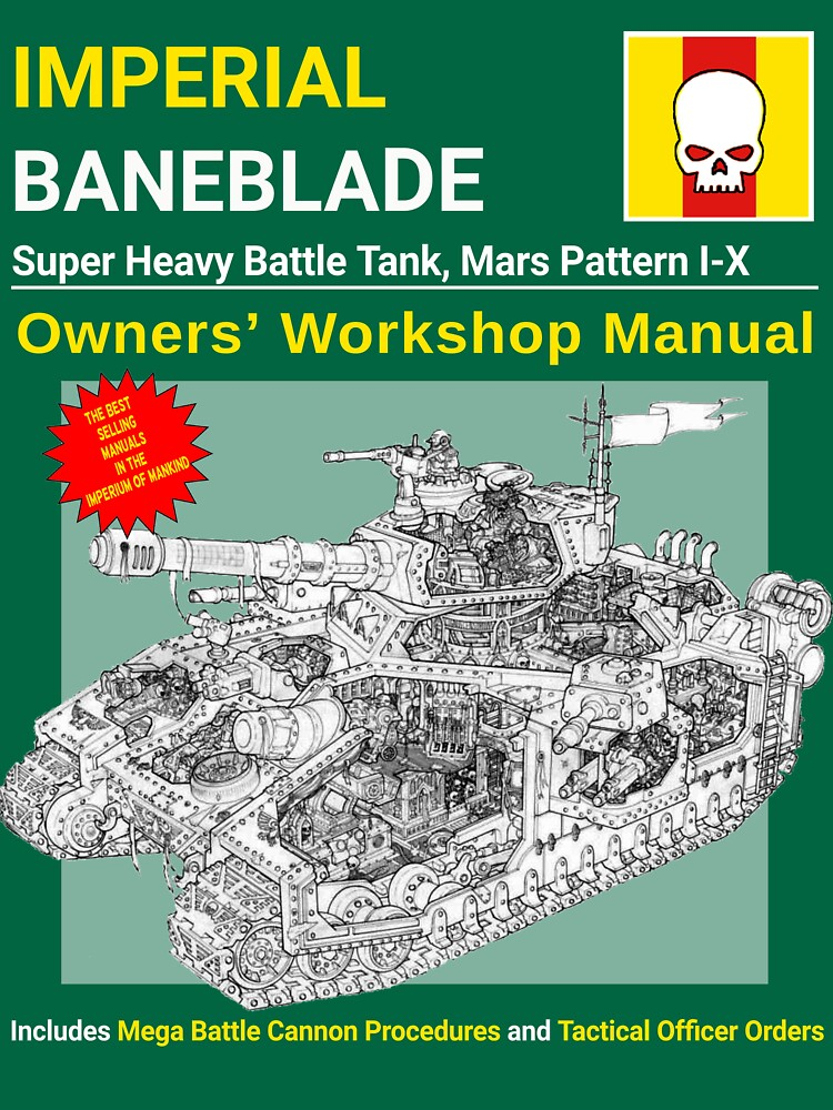 Imperial Baneblade Manual by Masterqw1
