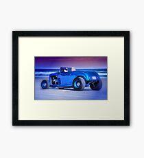 Cool cruiser, cooler dude. Framed Print