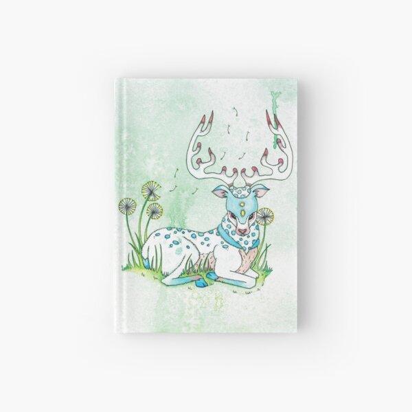Pastel Reindeer Hardcover Journal