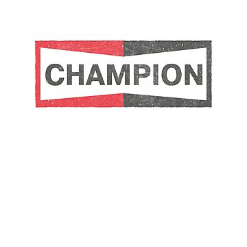 Camiseta del logotipo de Champion Faded Champion - Érase una vez en Hollywood de NinjaDesignInc