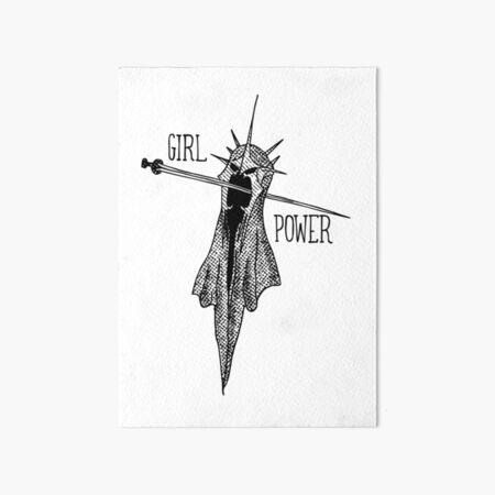 GIRL POWER! Art Board Print