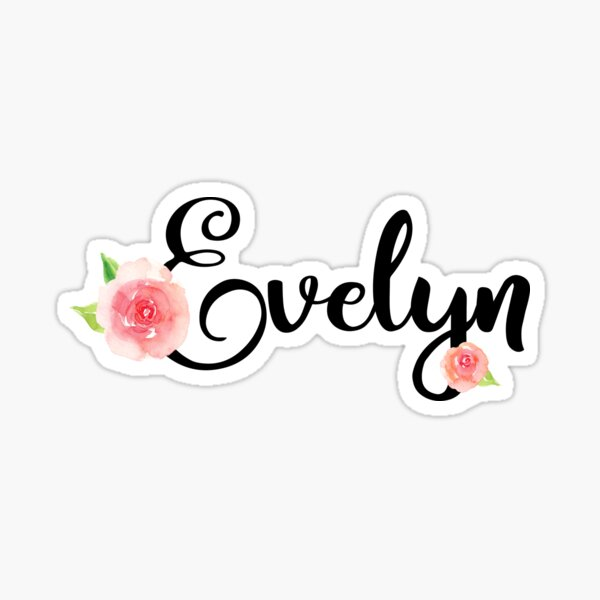 Evelyn Sticker