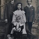 My Grandfather and his Sister and Brothers. c1900 by relayer51