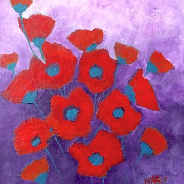 Poppy bouquet by Wonju