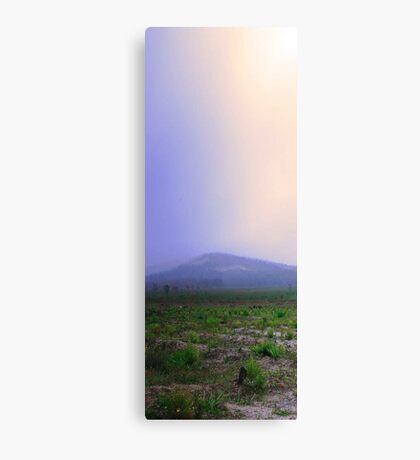 Misty Mount Cooke  Canvas Print