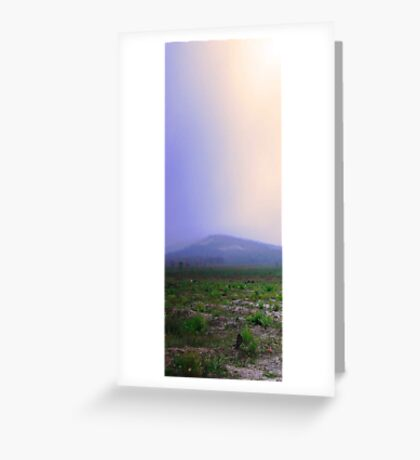 Misty Mount Cooke  Greeting Card