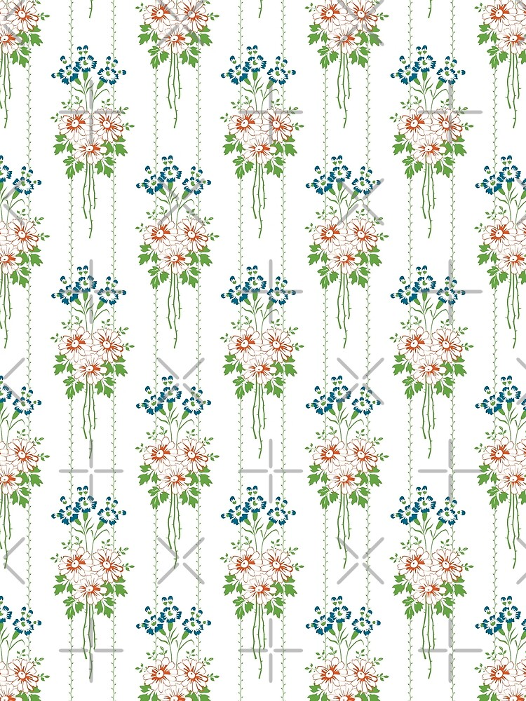 Baroque Wallpaper Blumenbouquet... von pASob-dESIGN