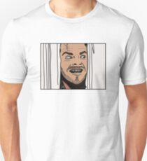 The Shining - Aquí está Johnny Camiseta unisex
