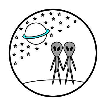 Espacio exterior - Aliens de AdamEvzz