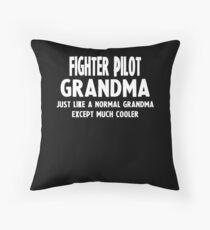 Gifts For Fighter Pilot Grandma Bodenkissen