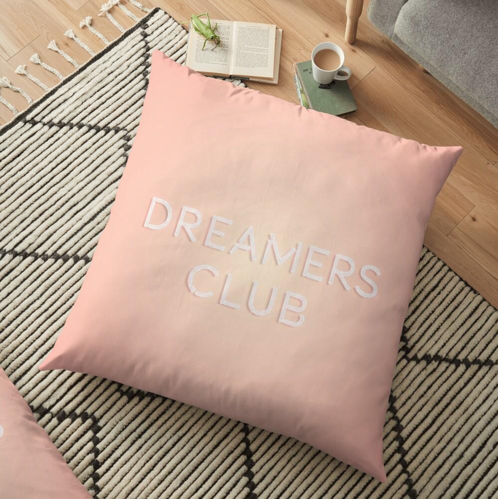 Dreamers Club Floor Pillow
