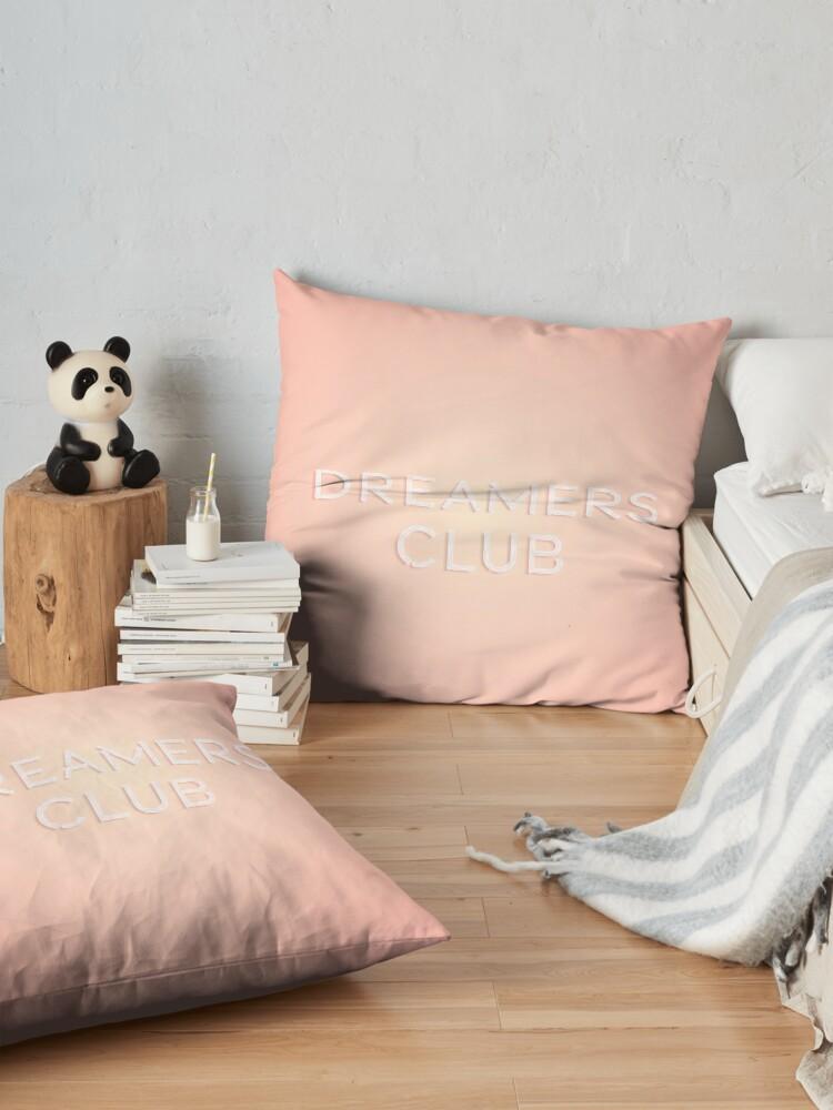 Alternate view of Dreamers Club Floor Pillow