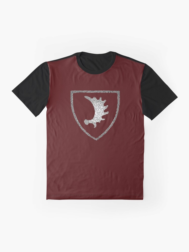 Alternate view of  Elchschaufel symbol of Ostpreussen (East Prussia) Graphic T-Shirt