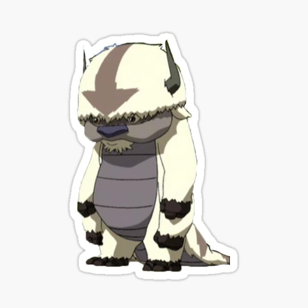 Standing Appa - Avatar The Last Airbender Sticker