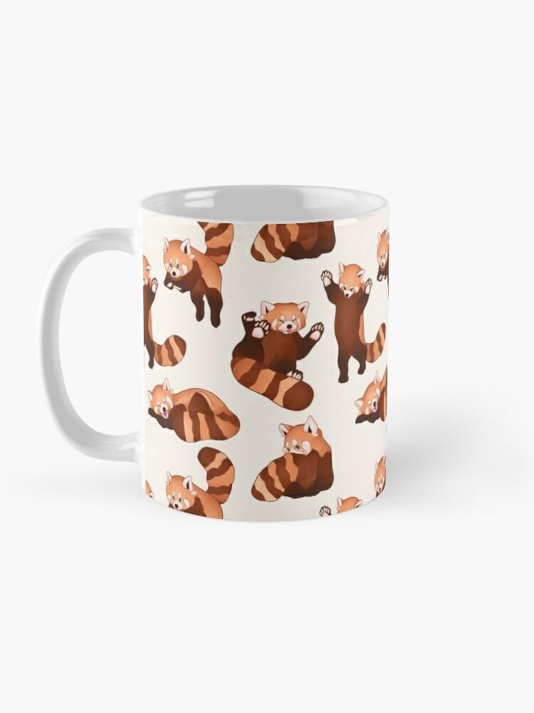 Alternate view of Red Panda Pattern Mug
