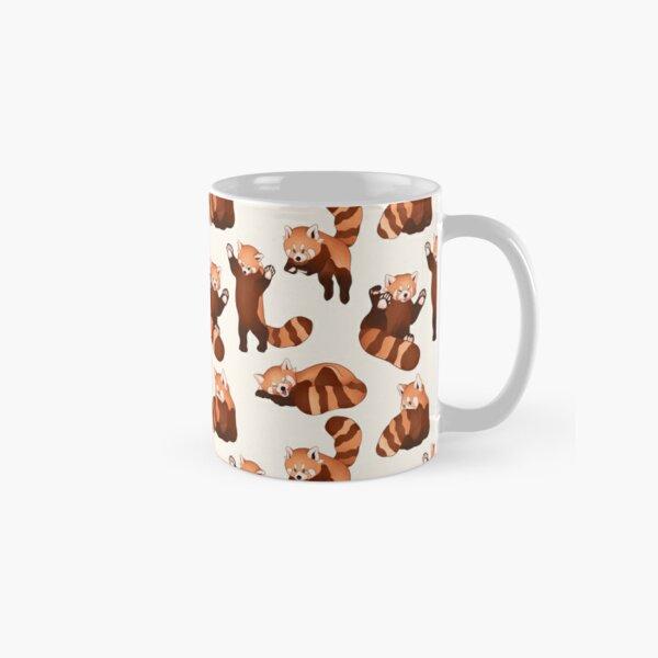Red Panda Pattern Classic Mug