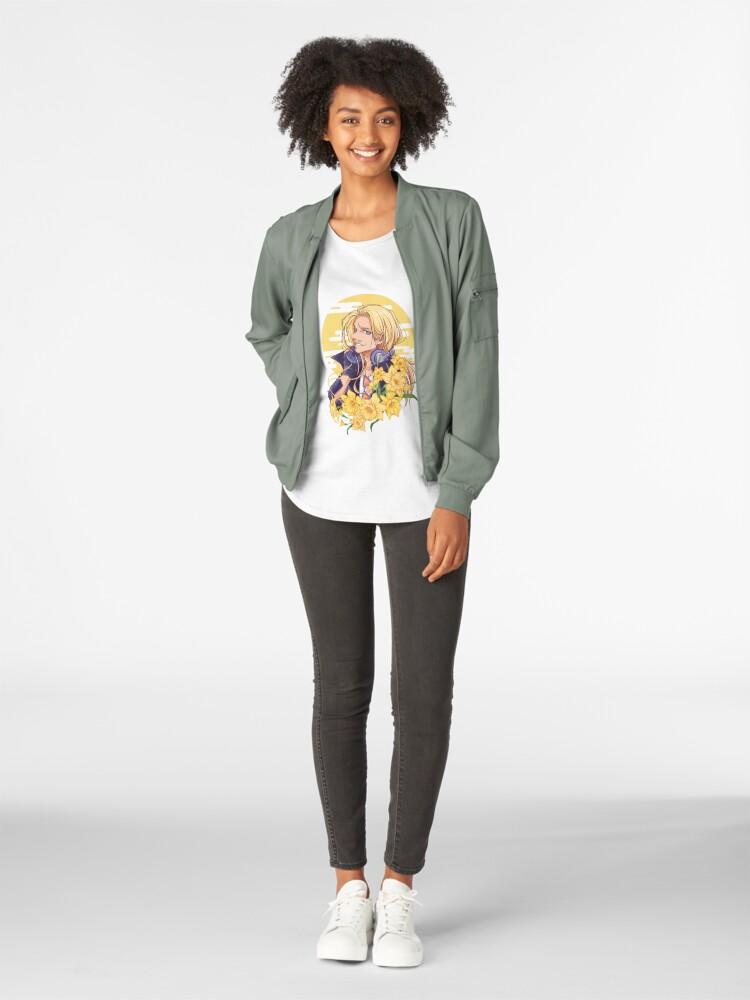 Alternative Ansicht von Narzissen Premium Rundhals-Shirt