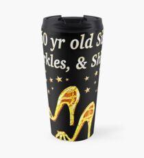 GLAMOROUS GOLD 60TH BIRTHDAY Travel Mug