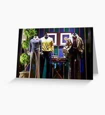 Ralph Lauren Shop Greeting Card