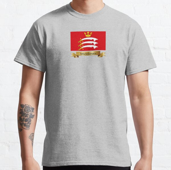 Middlesex Named Flag Gifts Classic T-Shirt