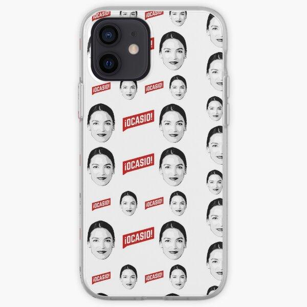 Ocasio Cortez Pattern iPhone Soft Case